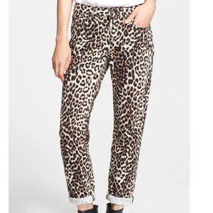 NWT rag & bone - Boyfriend Jeans Snow Leopard 27
